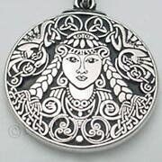 Triple Goddess Pendant