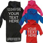 Boys Personalised Hoodies