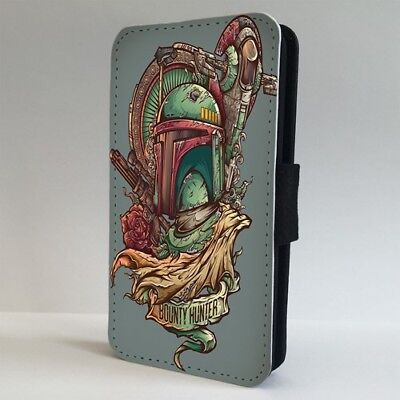 Boba Fett Star Wars Bounty Hunter FLIP PHONE CASE COVER for IPHONE SAMSUNG