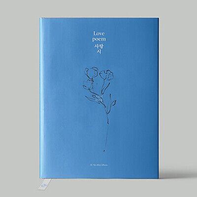 IU [LOVE POEM] 5th Mini Album CD+Photo Book+Photo Card+Book Mark K-POP SEALED