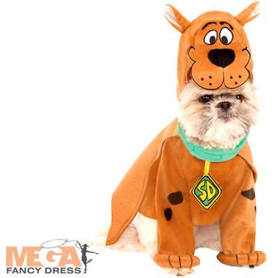 Scooby Doo Dog Costumes (Scooby Doo Dog Fancy Dress Cartoon Character Novelty Animal Puppy Pets)