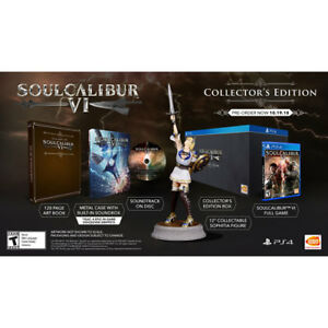 Soul Calibur 6 Collector Edition BRAND NEW SEALED PS4