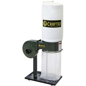 Craftex 1 HP Dust Collector