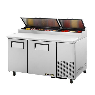True Tpp-60 Pizza Prep Table For 8 Pans - Two Door 60w