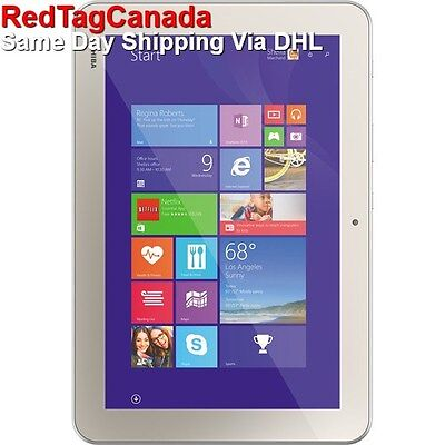 """Toshiba 32GB Encore 2 WT10-A32 10.0"""" Touch Wi-Fi  Tablet (Satin Gold) - Canada"""