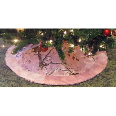 Realtree AP Pink Camo Christmas Tree Skirt - Camo Christmas