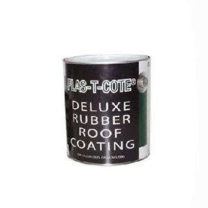 Rubber roof coating for rv camper trailer