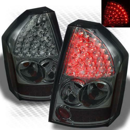 Chrysler 300 2006 Black Led Tail Lights: Chrysler 300 Smoked Tail Lights