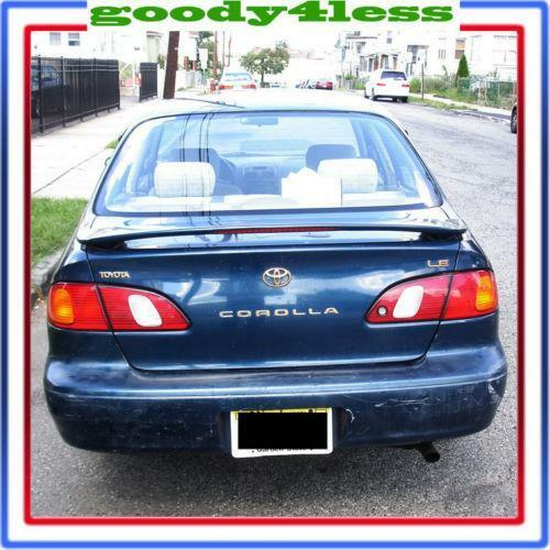 toyota corolla rear spoiler ebay. Black Bedroom Furniture Sets. Home Design Ideas