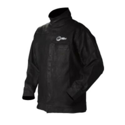 Miller Electric Mfg Llc 273215 Split Leather Jacket, Xl