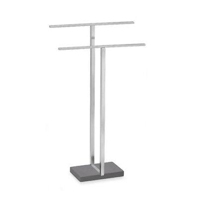 Blomus Stainless Steel Towel (Blomus MENOTO Stainless Steel Double Towel Stand Holder)
