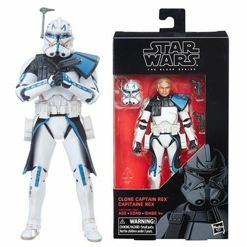 "Star Wars the Black Series Captain Rex 6"" Action Figure #59 - New MIB"