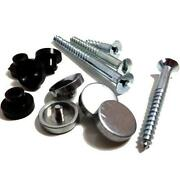 Chrome Mirror Screws