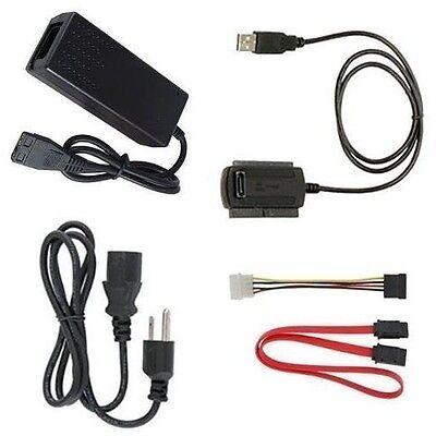 как выглядит Дубликатор жестких дисков Hot Selling USB 2.0 to IDE SATA S-ATA 2.5 3.5 HD HDD Adapter Cable New фото