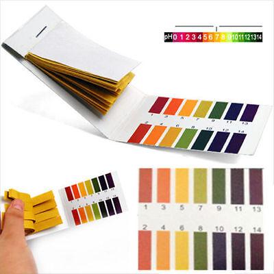160 Ph Indicator Test Strips 1-14 Paper Litmus Tester Laboratory Urine Saliva
