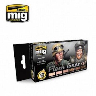 Ammo Mig Flesh Tones Set A.MIG 7168