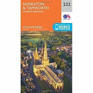 Nuneaton-and-Tamworth-by-Ordnance-Survey-Sheet-map-folded-2015