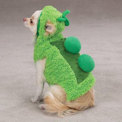 Zack & Zoey Sweet Pea Costume Sweet Pea Soft Plush Easy On/Off Hook/Loop Closure