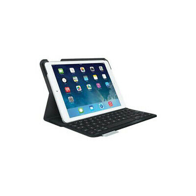 Logitech Canvas Keyboard Case for iPad Air 2 - Black  Textured