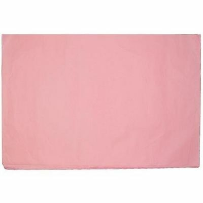 Case Of 17x27 Pink Premium Tissue Paper 4800 Sheets New