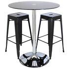 Glass Bistro Tables Sets
