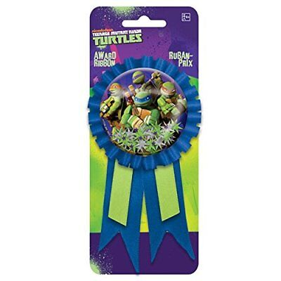 Ninja Turtle GUEST OF HONOR RIBBON ~ Birthday Party Supplies Favors Award](Ninja Turtle Birthday Favors)