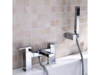 Brand New Boxed Beautiful, Contemporary Bath Shower Mixer Tap
