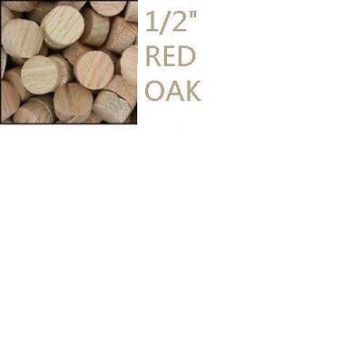 "10pcs BUBUGAO 1/2""unfinish red oak wood plug for post for sale  Scarborough"
