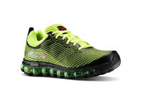NEW Reebok Jetfuse Run, AIR Running shoes/Trainers, Solar Yellow/Lime/Black 10uk