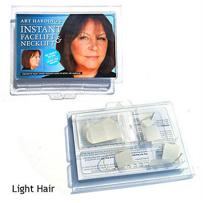 Hollywood Instant Face And Neck Lift Kit Light Hair Awesome Product Guaranteed