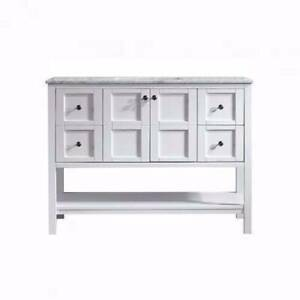 SALE!!!French Style Vanity White 1200mm With Stone Top