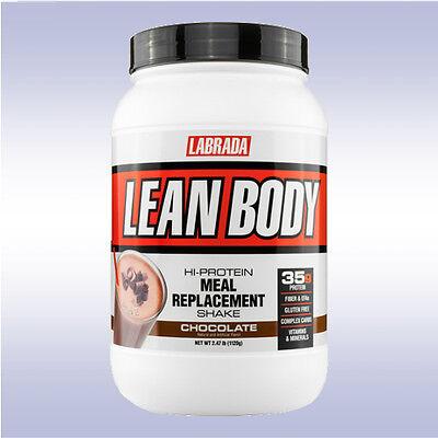 LABRADA LEAN BODY MEAL REPLACEMENT SHAKE (2.5 LB) protein powder jug muscle mass Lean Body Powder