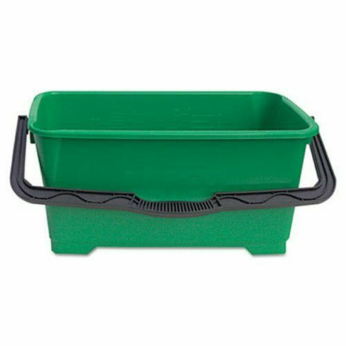 Unger Pro 6 Gallon Window Cleaning Bucket, Plastic, Green (UNGQB220)