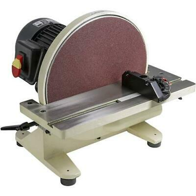 Shop Fox W1828 12 Disc Sander W 1hp 1700 Rpm Fan Cooled Direct Drive Motor