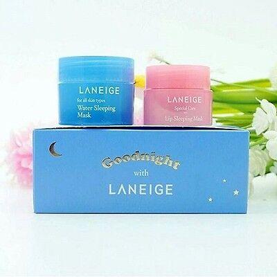 [LANEIGE_SP] Goodnight Sleeping Care Kit (15ml+3g) / Korea Cosmetic