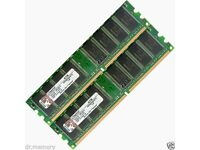 DDR Ram for sale PC3200 400mhz CL3 256Mb (512MB) x2