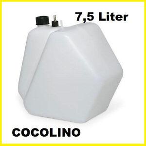 KART Tank, Kunststoff Benzintank 7,5 L  reservoir