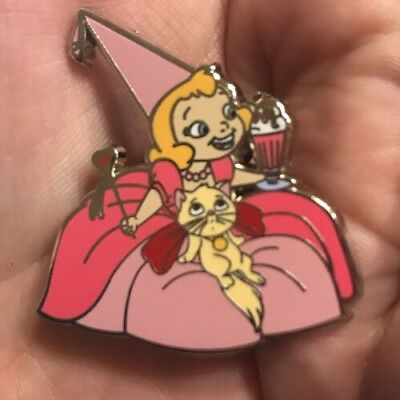 Fantasy Pin Le 100 Disney Young Charlotte And Cat With Ice Cream Ptd