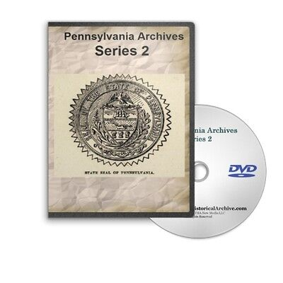 Pennsylvania Archives Series 2 19 Volumes DVD Marriages Militia More C761