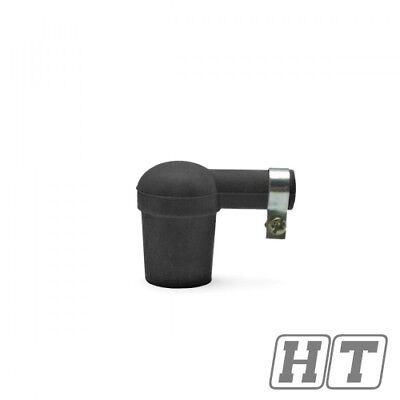 SPARK PLUG CONNECTOR TNT SILICONE BLACK FOR SCOOTER MOTORCYCLE