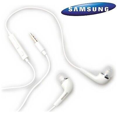 Original Samsung Kit Pieton Main Libre Blanc Original Gt-8190 Galaxy S3 S4...
