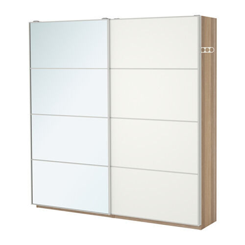 Ikea pax wardrobe with frosted glass sliding wardrobe for Door 2 door doncaster