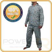 Schlafanzug Herren Kariert