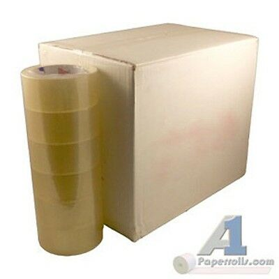 36 Rolls 2 X 330 Clear Packing Tape 110 Yards 1.9 Mil