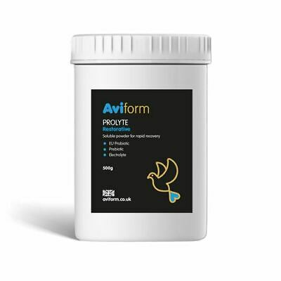 Aviform PROLYTE Probiotic & Prebiotic Post Race Restorative for Pigeons 500g