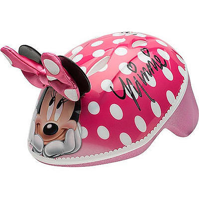 Bell Sports Disney Minnie Mouse Girls Toddler Helmet Bow Bike Scooter Skateboard Bell Sports Girls Bicycle Helmet