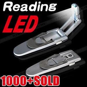 LED Clip Light Robotic On Book Reading Book Kindle Flexible Mini Lamp Booklight