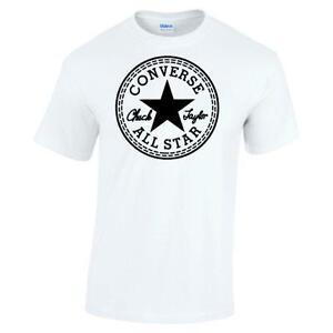 White Converse T Shirt