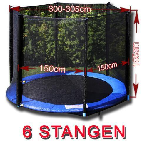 trampolin netz 305cm ebay. Black Bedroom Furniture Sets. Home Design Ideas