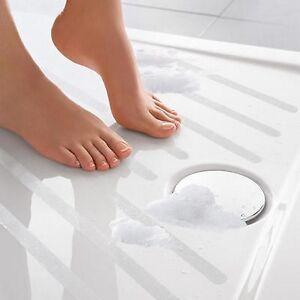 safe t strips clear non slip safety applique mat stickers bath tub shower ebay. Black Bedroom Furniture Sets. Home Design Ideas